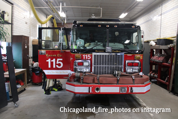 Chicago FD Engine 115 in quarters