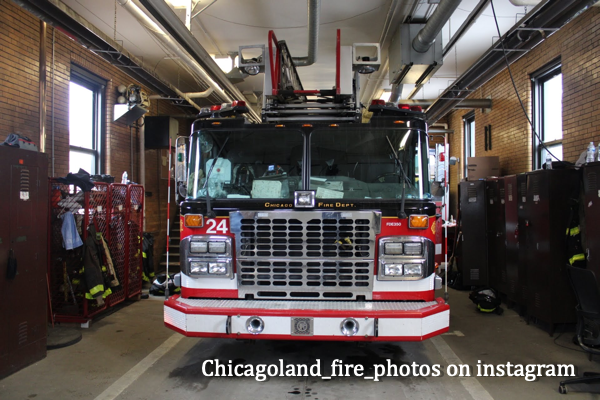 Chicago FD Truck 24 in quarters