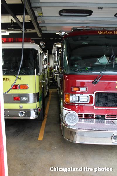 Garden Homes Volunteer Fire Department fire trucks