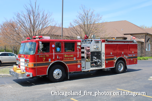 spare Orland FPD fire engine