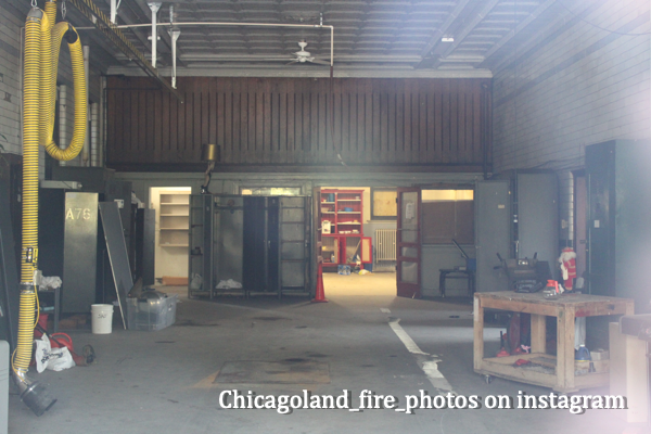 vacant Chicago firehouse