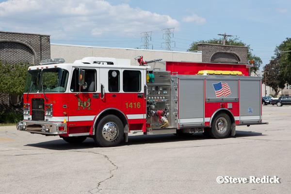 2004 Spartan Advantage/Crimson fire engine