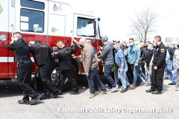 New Rosemont fire engine