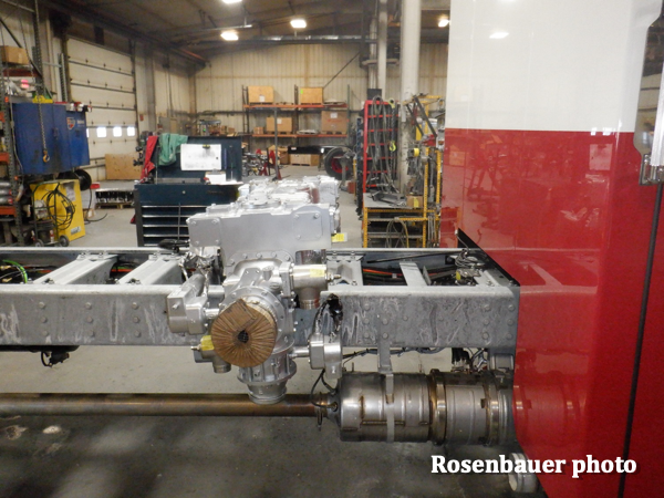 Rosenbauer pumper tender being built for the Sycamore Township FPD