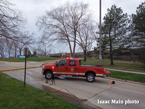 Cedar Rapids FD incident commander