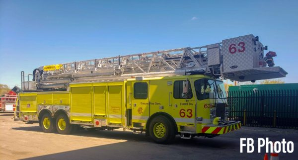New tower ladder for Chicago at O'Hare Airport