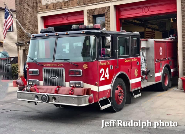 Former Evanston Pierce Arrow that was purchased by NBC's Chicago Fire TV show