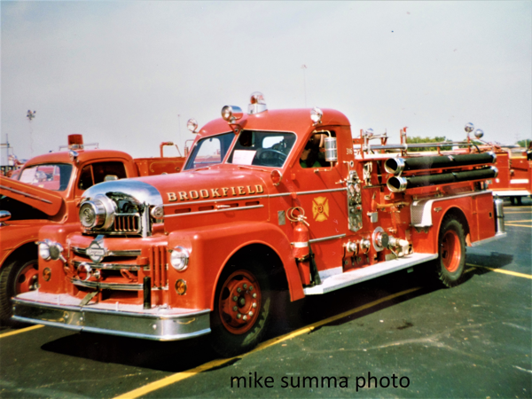 Brookfield Fire Department history