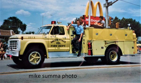 1973 Ford/Darley fire engine