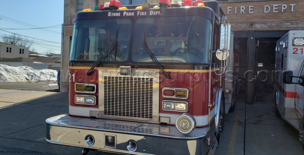 1997 Spartan Gladiator /. RD Murray rescue engine for sale
