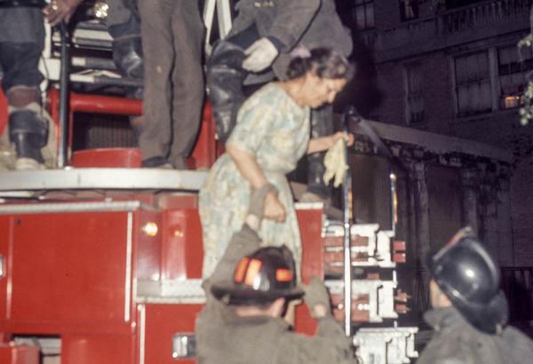 Graemere Hotel fire in Chicago 1971