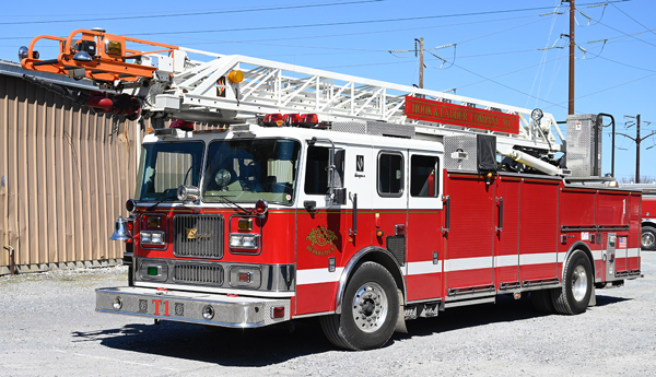 Former Elgin FD Truck 1 for sale