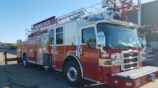 new Pierce fire truck for Black Jack MO
