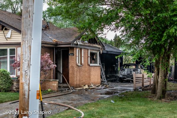 house fire in Park Ridge IL
