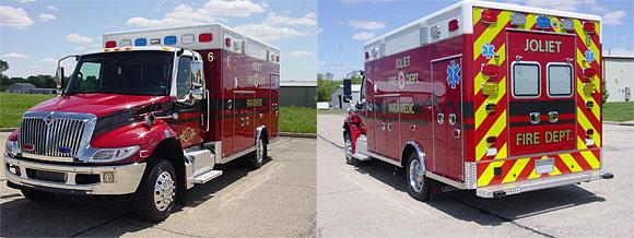 New ambulance for the Joliet FD