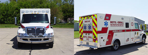 new ambulance for the Bristol-Kendall FPD