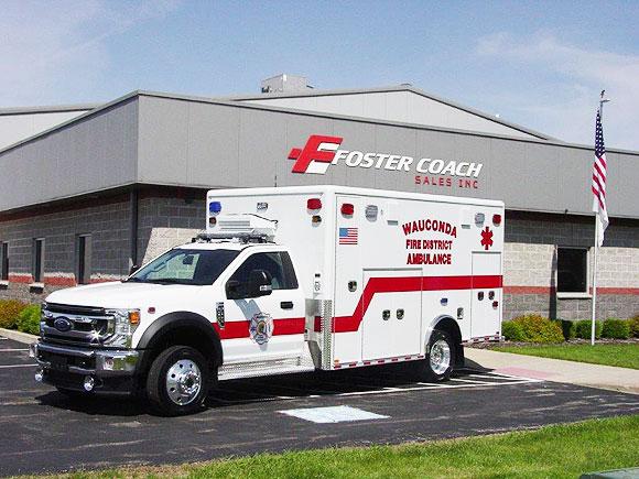 Wauconda Fire District ambulance