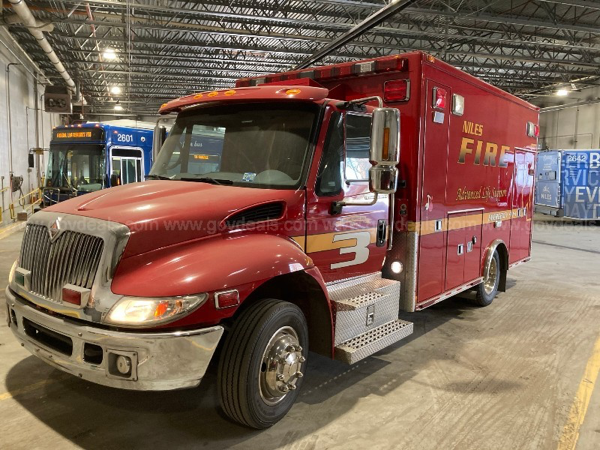 2007 IHC 4300/Medtec Type 1 ambulance for sale