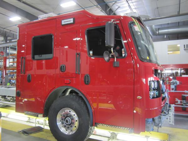 Rosenbauer fire truck being built for the Northwest Homer FPD