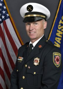 Evanston Fire Department Deputy Chief William Muno