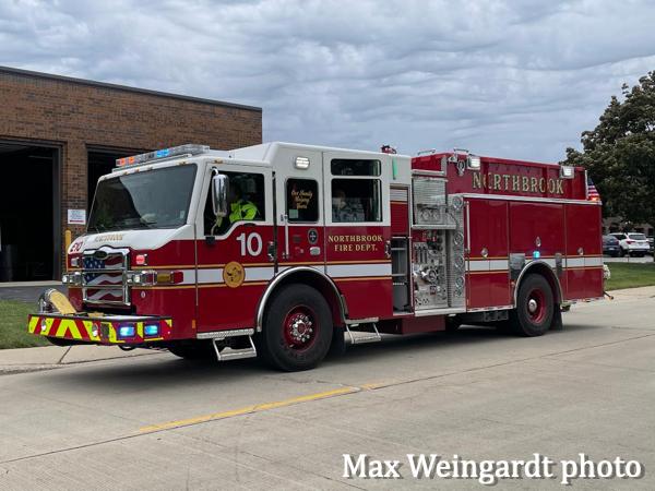 Pierce Impel fire engine