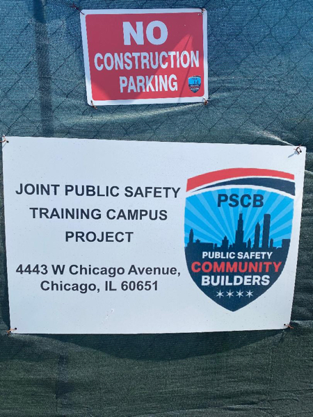 Construction of the new Joint Public Safety Training Campus for Chicago