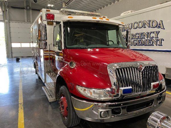 Wauconda FD ambulance for sale