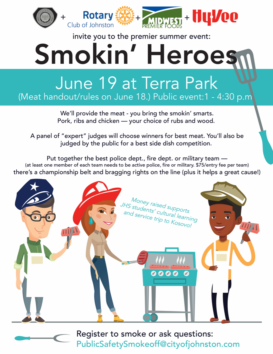 2021 Smokin' Heroes competition in Johnston IA