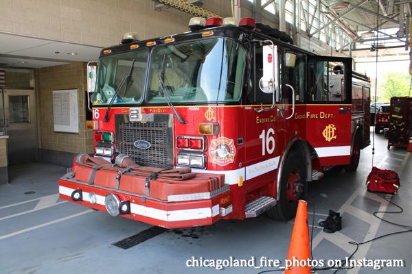 Chicago FD Engine 16 in quarters