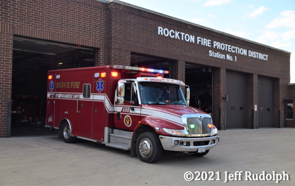 Skokie FD Ambulance 16R