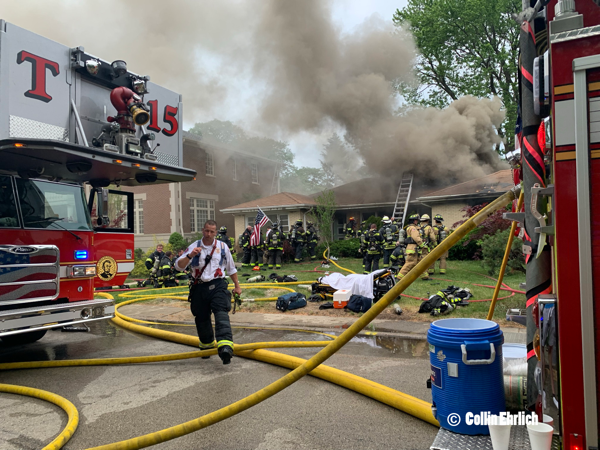 fatal house fire in Lincolnwood IL