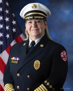 North Chicago Fire Chief Dell Urban
