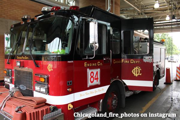 inside Chicago FD 84's house