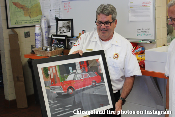 Retirement of Chicago FD Battalion Chief Mike Burns 7/28/21
