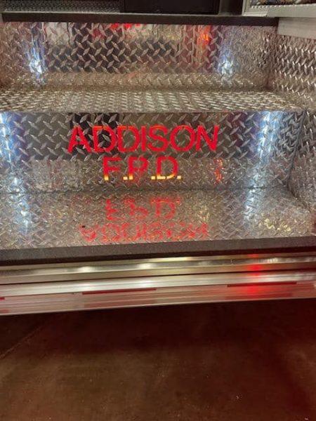 customization of new ambulance