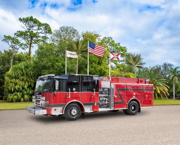 Pierce Enforcer fire engine