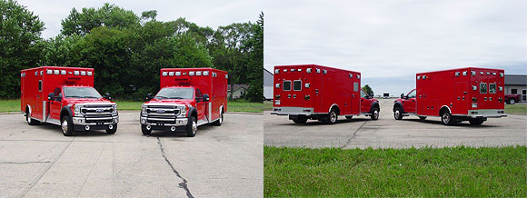 New ambulances for the Crystal Lake FD
