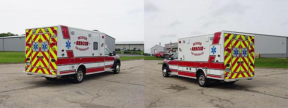 Monee FPD Ambulance 55