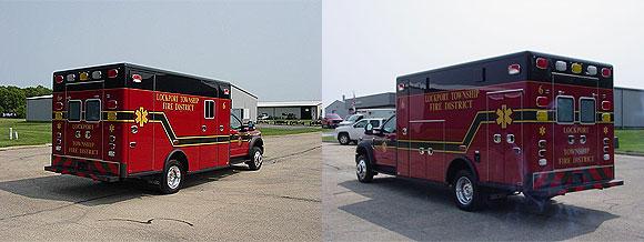 Wheeled Coach Type 1 ambulance
