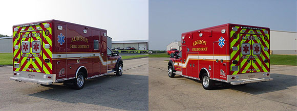 New ambulance for the Addison Fire District