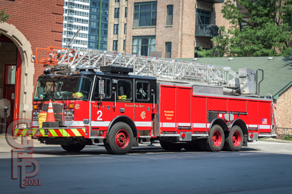 2020 E-ONE Cyclone 100' rear mount aerial ladder truck