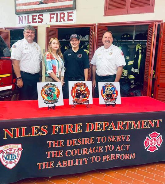 new Niles FD company logos