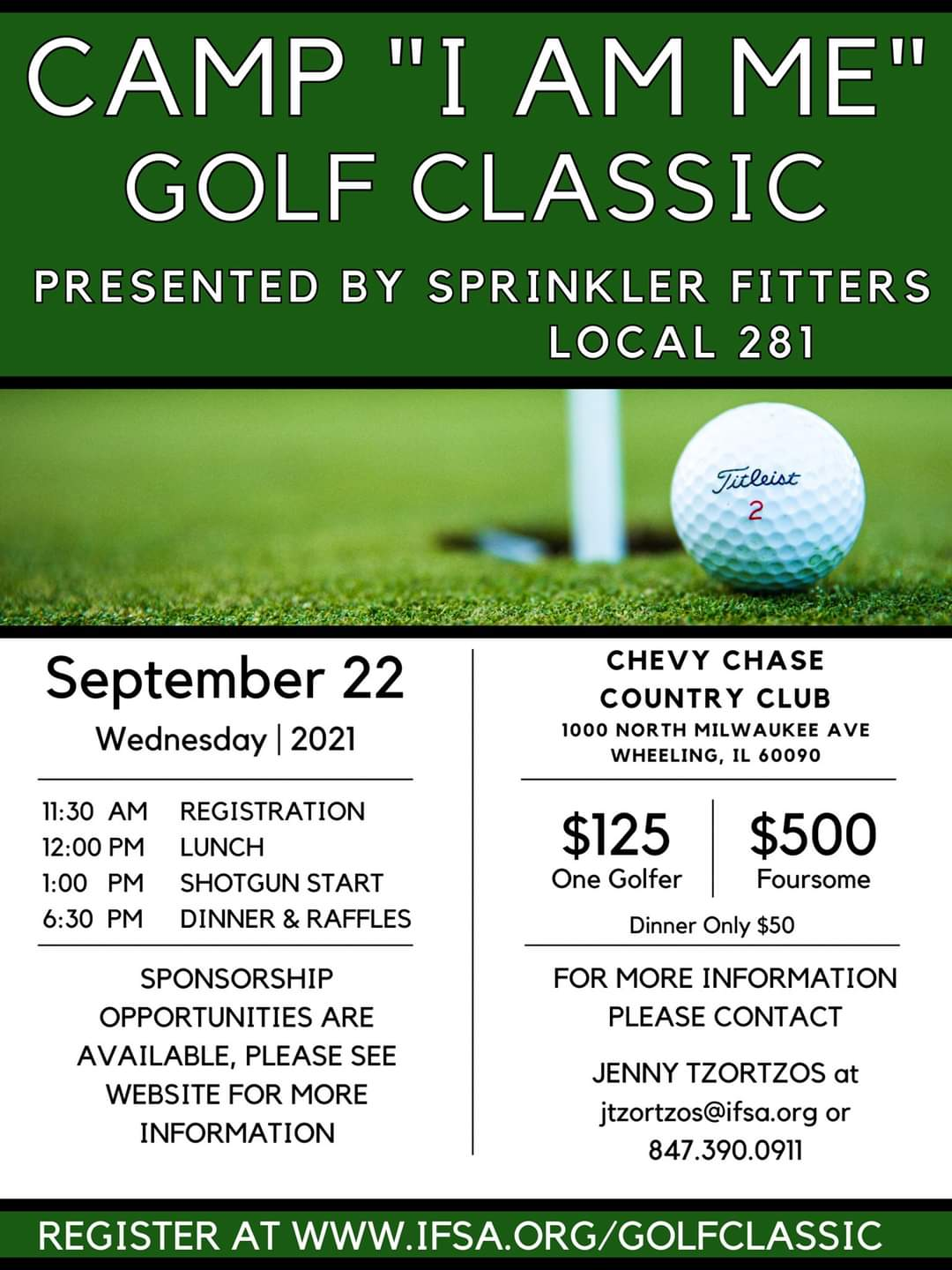 The Illinois Fire Safety Alliance (IFSA) will be hosting its FIRST EVER Golf Outing