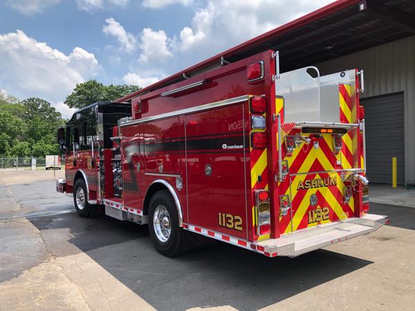 new Rosenbauer Warrior fire engine