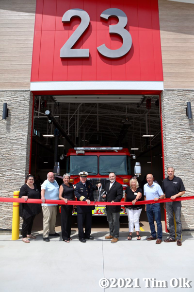 Wheeling (IL) opens new fire station 23 7/9/21
