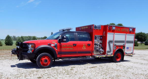 Fox River & Countryside FPD squad 1834