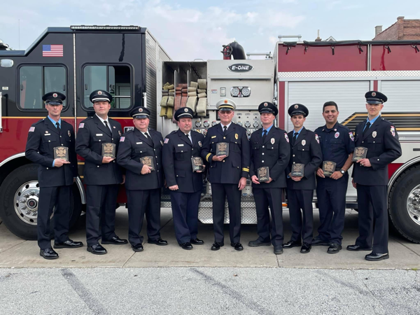 Calumet City Firefighters honored for rescue