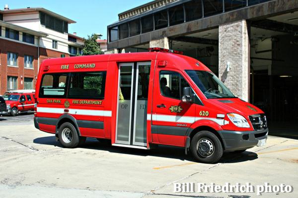 Oak Park FD Command Van