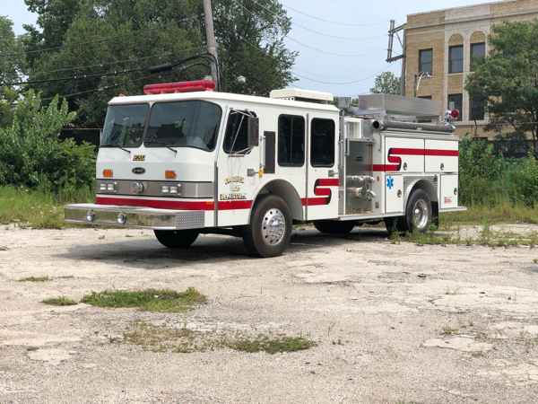 Former Parker Fire Department Engine Company 2202