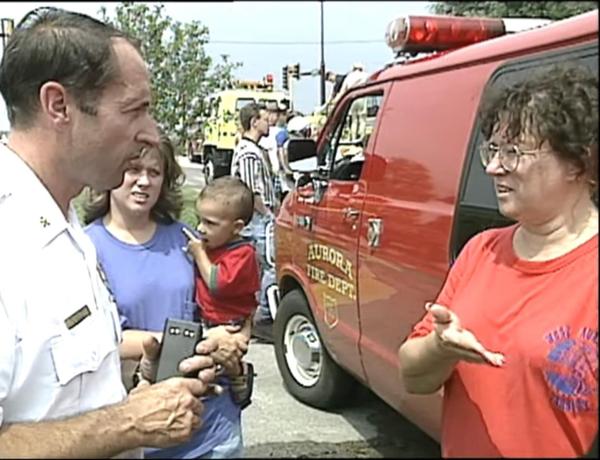 1996 Aurora IL flood